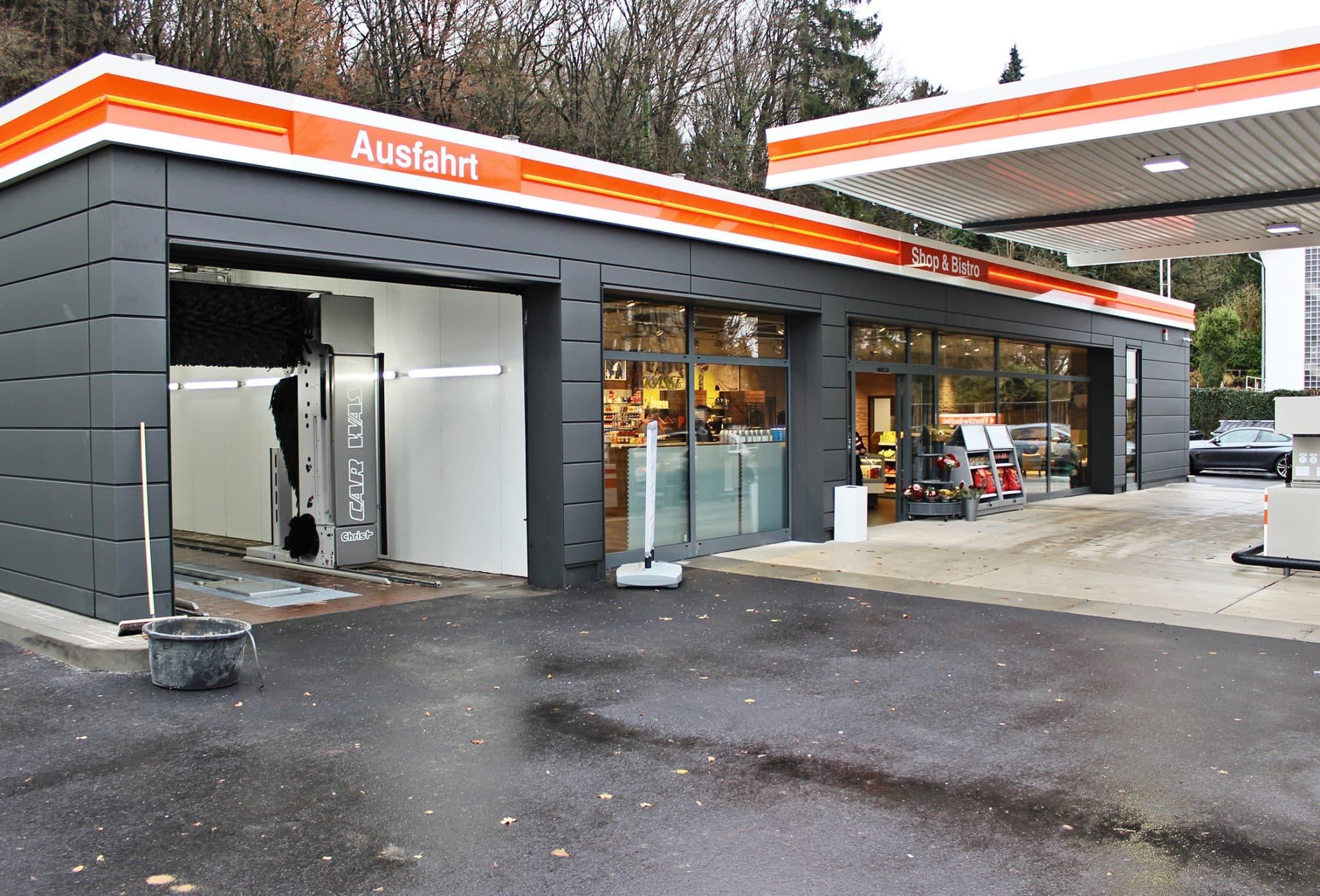 BFT Tankstelle in Lohmar mit neuem Gesicht