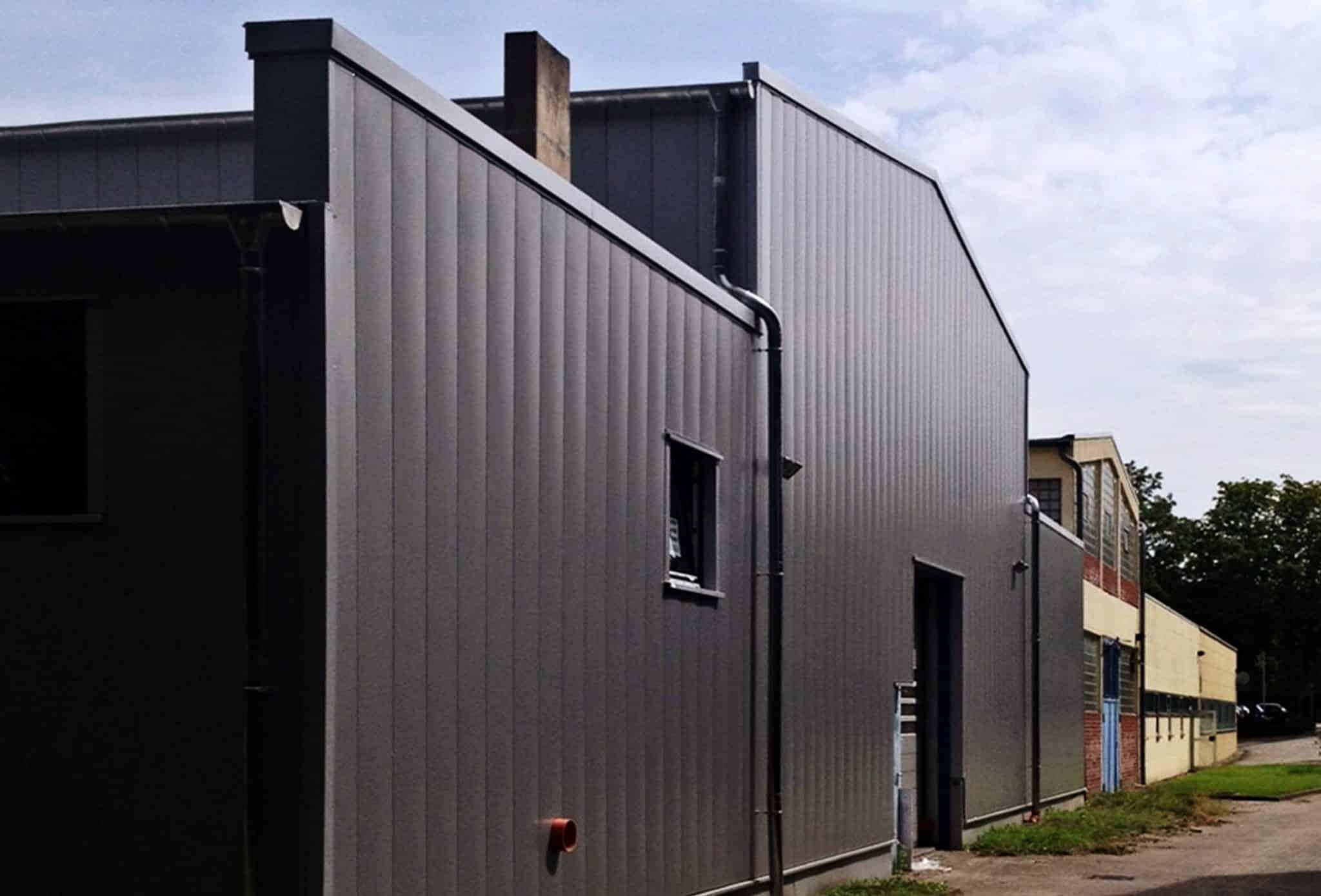 Fassaden- und Dachsanierung Kupplungsfabrik Reich