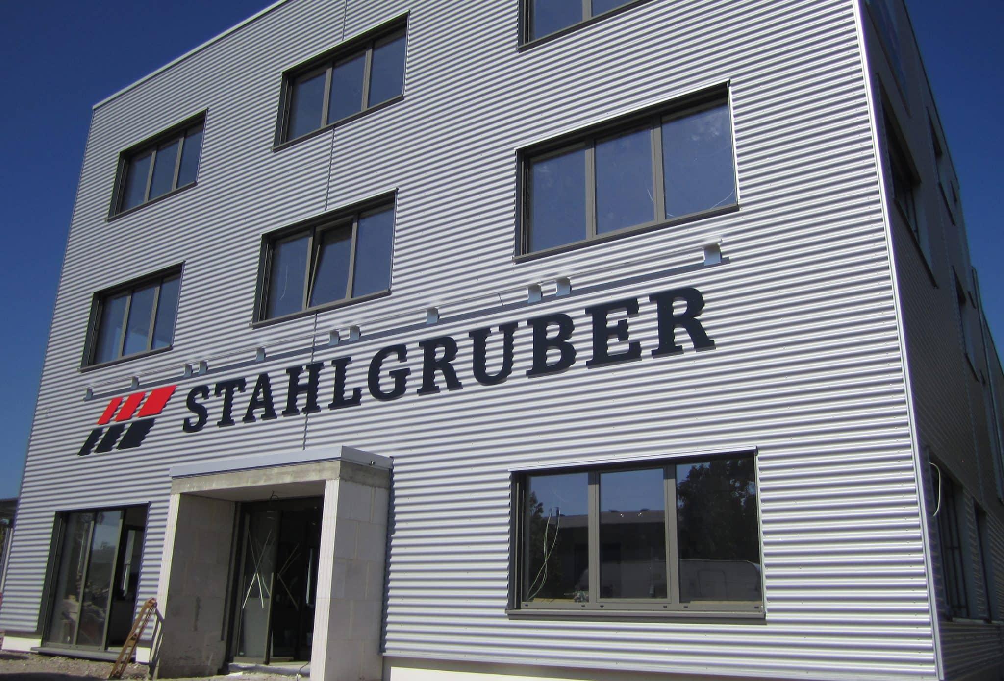 Neubau für Stahlgruber in Karlsruhe