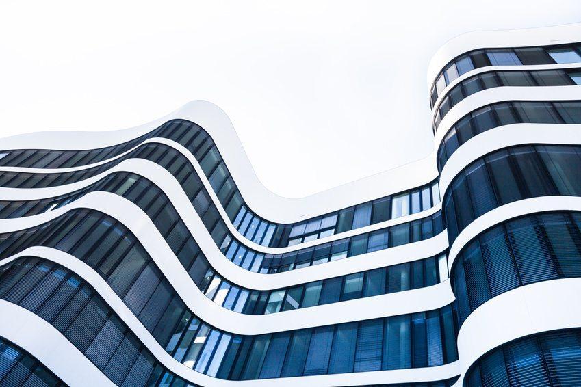 moderne Gebäudehülle