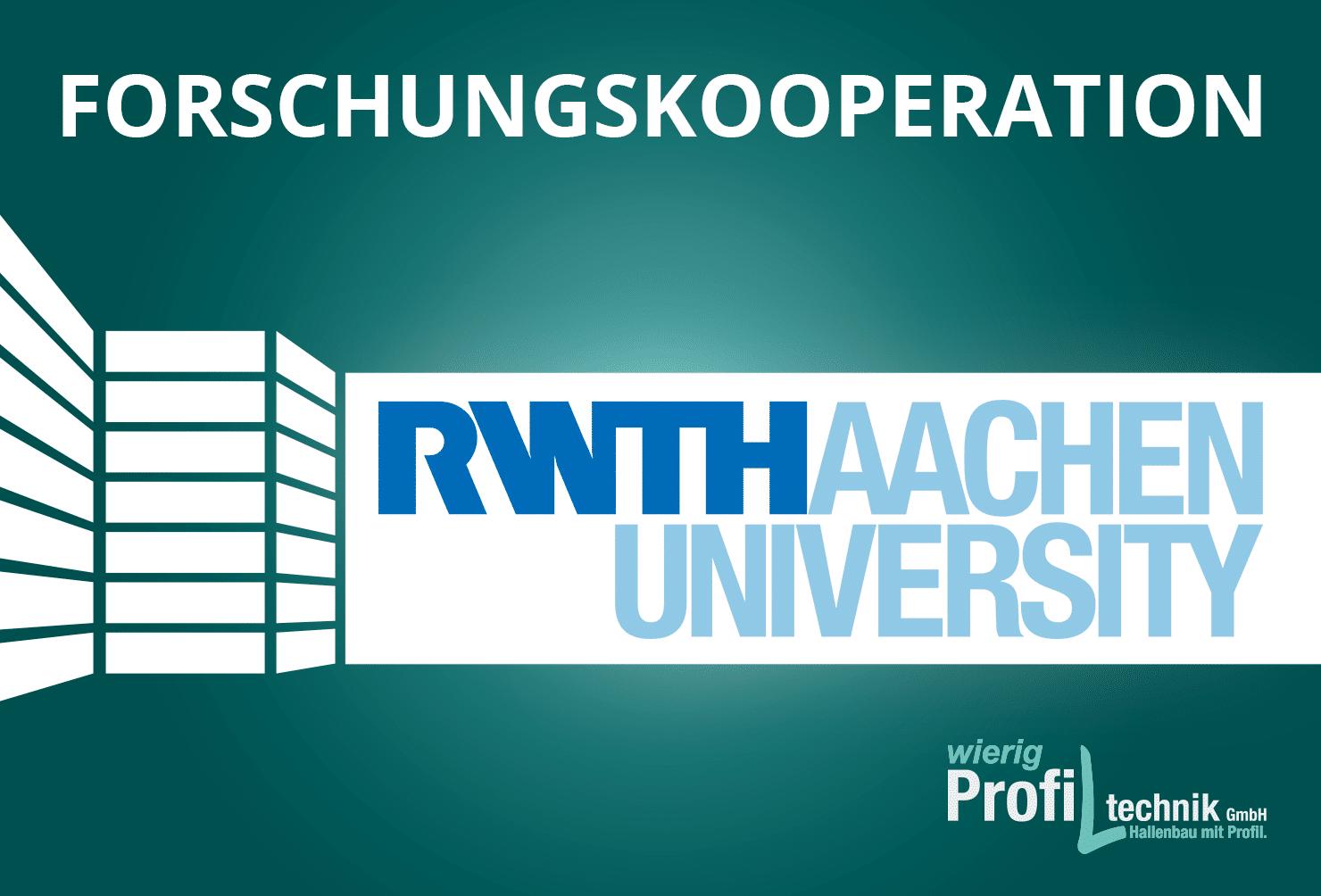 Wierig kooperiert mit der RWTH Aachen