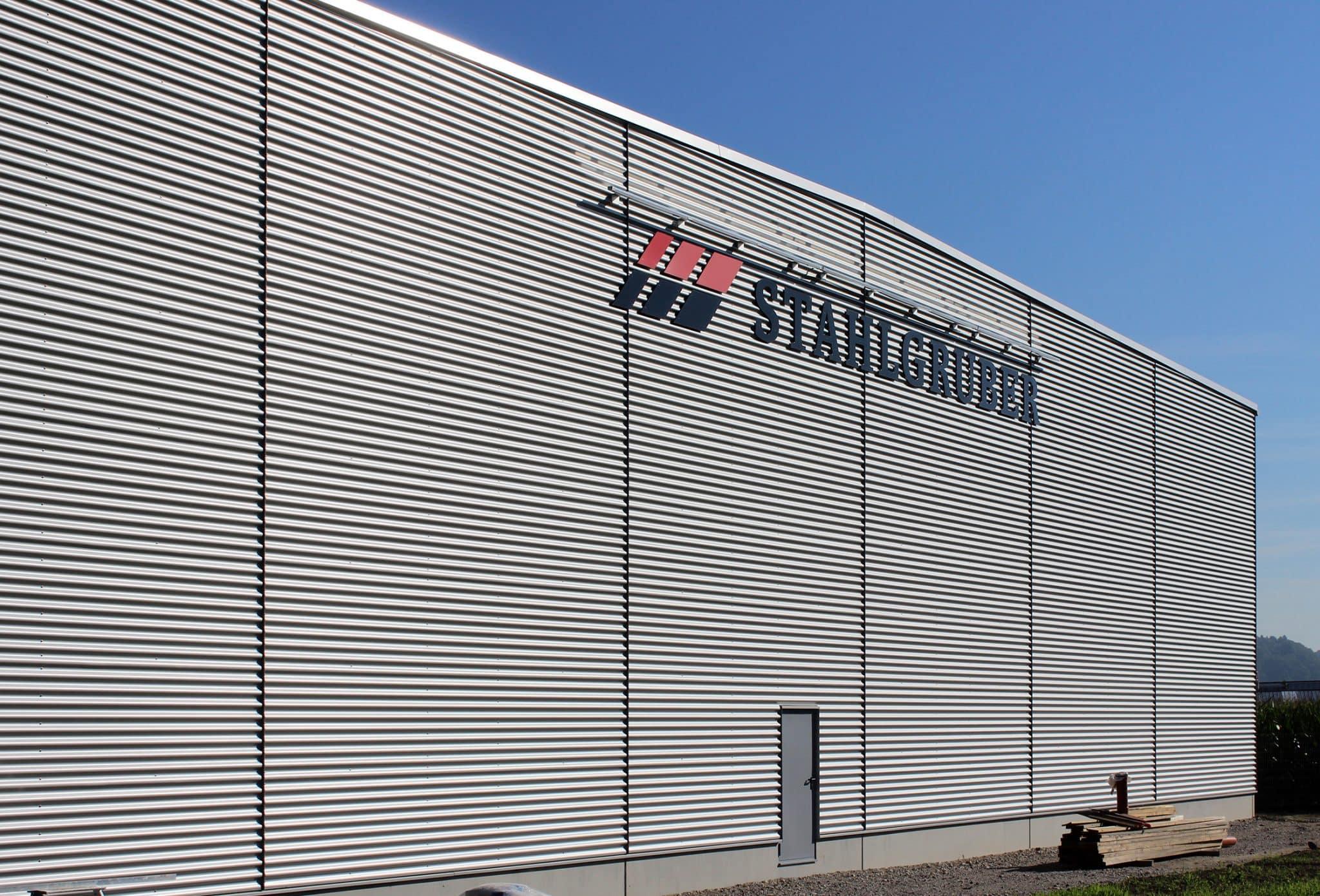 Neubau für Stahlgruber in Winhöring