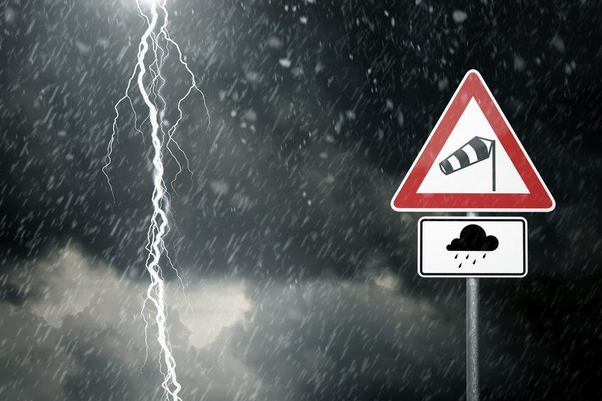 Halle vor Sturmschäden schützen